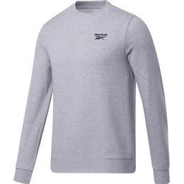 Reebok Identity Crew Sweatshirt Men - Medium Grey Heather