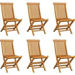 vidaXL 3065527 6-pack Armless Chair