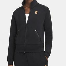 Nike Court Full-Zip Tennis Jacket Women - Black/Black