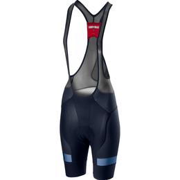 Castelli Free Aero Race 4 Bib Shorts Women - Savile Blue/Agate Blue