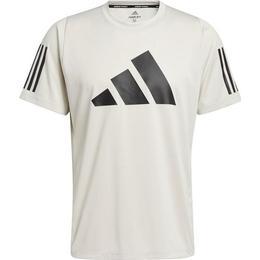 Adidas Freelift T-shirt Men - Aluminum
