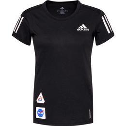 Adidas Run It Space Race Soft T-shirt Women - Black