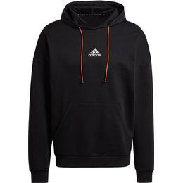 Adidas Loose Fit Hoodie Men - Black