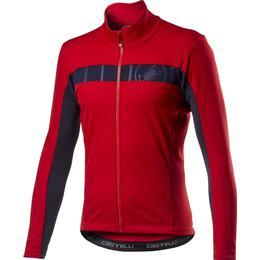 Castelli Mortirolo VI Jacket Men - Red