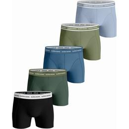 Björn Borg Solid Essential Shorts 5-pack - Black Beauty