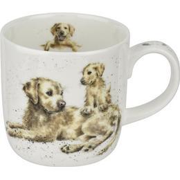 Royal Worcester Wrendale Designs Devotion Labrador Cup 31 cl 10 cm