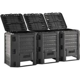 vidaXL Garden Composter 1200L