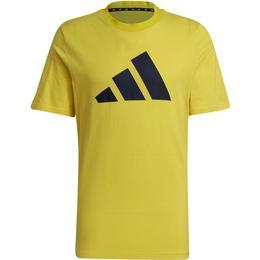 Adidas Logo T-shirt Men - Yellow