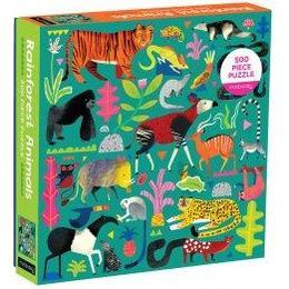 Mudpuppy Rainforest Animals 500 Pieces