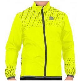 Sportful Reflex Cycling Jacket Kids - Yellow Fluo
