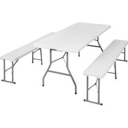 tectake Table and Bench Set