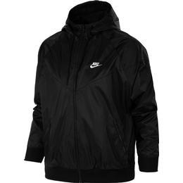 Nike Windrunner Hooded Jacket Men - Black/White