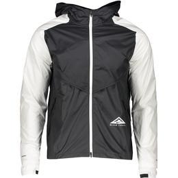 Nike Windrunner Trail Running Jacket Men - Black/Dark Smoke Grey/White/White