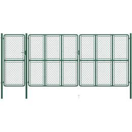 vidaXL Garden Gate 200x495cm 144455