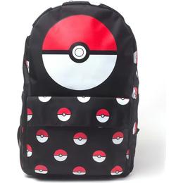 Pokémon Pokeball AOP Backpack - Black
