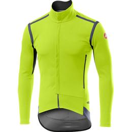 Castelli Perfetto ROS Long Sleeve Jersey Men - Yellow Fluo