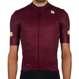 Sportful Classic Cycling Jersey Men - Red Wine