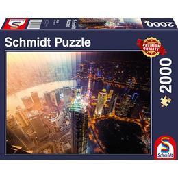 Schmidt Day & Night Time Slice 2000 Pieces