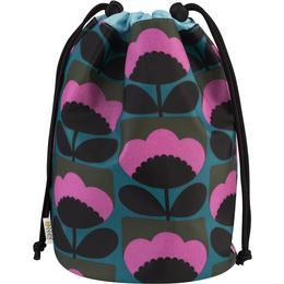 Orla Kiely Spring Bloom Barrel Wash Bag - Multicolour