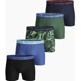 Björn Borg Leafy Essential Shorts 5-pack - Lichen