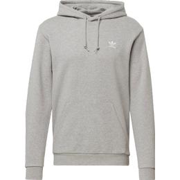 Adidas Loungewear Trefoil Essentials Hoodie - Medium Gray Heather