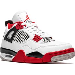 Nike Air Jordan 4 Retro M - White/Black/Tech Grey/Fire Red