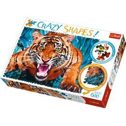 Trefl Crazy Shapes Facing a Tiger