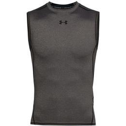 Under Armour Heatgear Armour Sleeveless Compression Shirt Men - Carbon Heather
