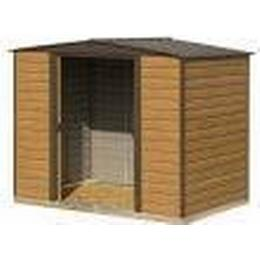 Rowlinson Woodvale Metal Apex Shed (Building Area )