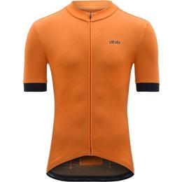 Dhb Merino Short Sleeve Jersey Men - Orange