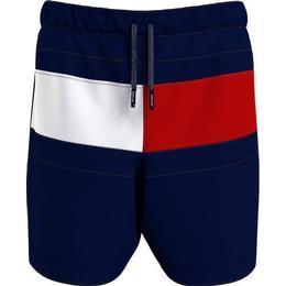 Tommy Hilfiger Mid Length Drawstring Swim Shorts - Navy Blue (UB0UB00355DW5)