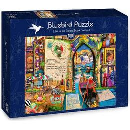 Bluebird Life is an Open Book Venice 1000 Pieces