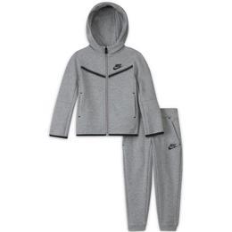 Nike Toddler Sportswear Tech Fleece - Dark Grey Heather (DB7388-063)