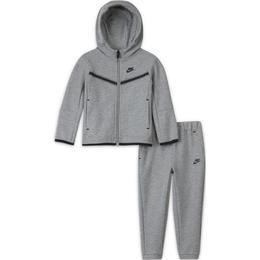 Nike Toddler Sportswear Tech Fleece - Dark Grey Heather (DB7387-063)