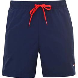 Tommy Hilfiger Contrast Drawstring Swim Shorts - Pitch Blue
