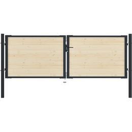 vidaXL Fence Gate 310x150cm
