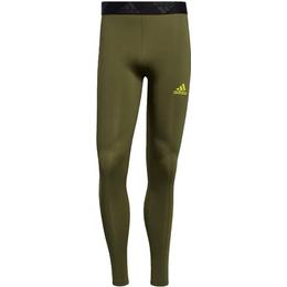 Adidas Techfit 3-Stripes Long Tights Men - Wild Pine