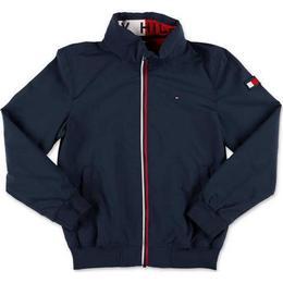 Tommy Hilfiger Essential Logo Collar Hooded Jacket - Twilight Navy (KB0KB06268C87)