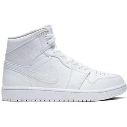 Nike Air Jordan 1 Mid M - White/White/White