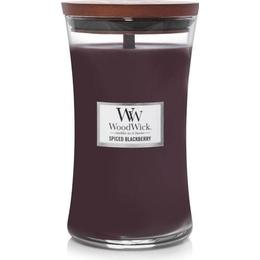 Woodwick Spiced Blackberry Large Scented Candles
