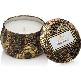 Voluspa Baltic Amber Petit Tin Scented Candles