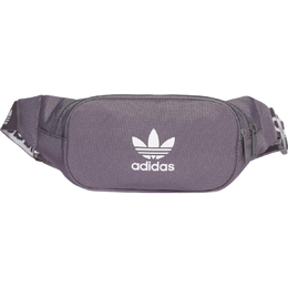 Adidas Adicolor Branded Webbing Waist Bag - Grey Five/White