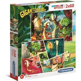Clementoni Giganotosaurus 2x60 Pieces