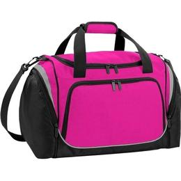 Quadra QS277 Pro Team Locker Bag - Fuchsia/Black/Light Grey