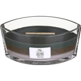Woodwick Cozy Cabin Ellipse Scented Candles