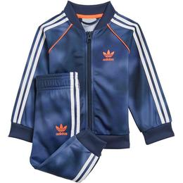 Adidas Adidas Allover Print Camo SST Tracksuit - Crew Blue/Multicolor/App Solar Red (GN4112)