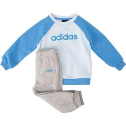 Adidas Linear Fleece Jogger Set - Sky Tint/Lucky Blue/Medium Grey Heather (FM6573)