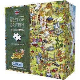Gibsons Best Of British 500 Pieces