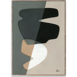 Paper Collective Composition 02 30x40cm Poster