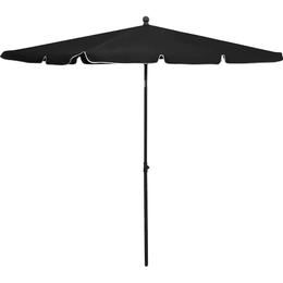 vidaXL Garden Parasol 210x140cm